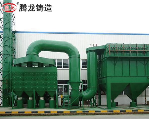 大型脈沖濾筒式除塵器