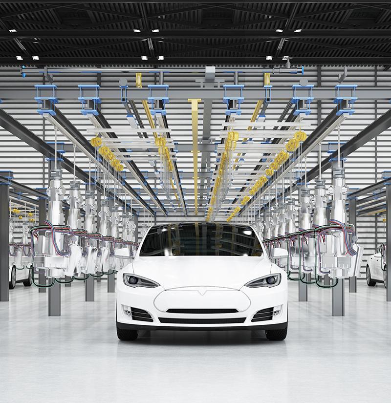 汽车制造业