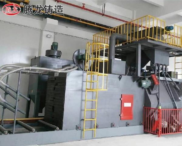 浙江輥道通過式拋丸清理機