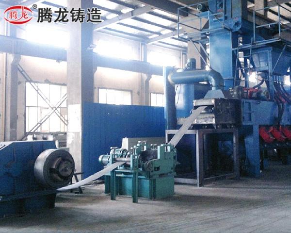北京鋼帶拋丸清理機