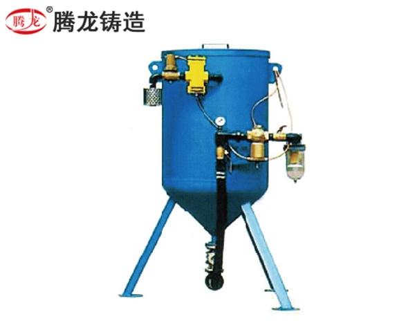 開放式自動化噴砂機